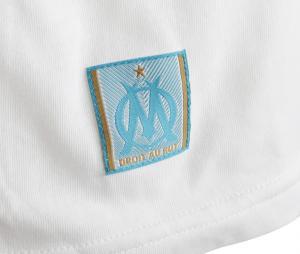 Camiseta OM Logo Blanco Júnior