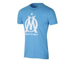 Tee-shirt OM Logo Fan Blue