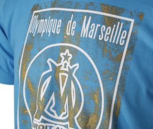 Tee-shirt OM Logo Blue