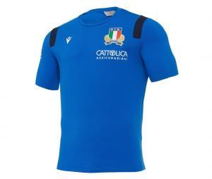 T-shirt Italie Bleu