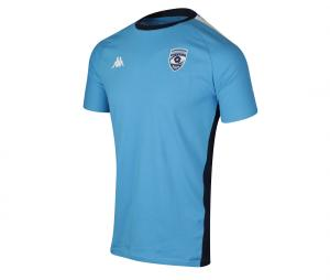 T-shirt Montpellier Hérault Rugby Ombrone Bleu