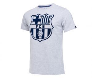 T-shirt Barça Big Logo Blanc