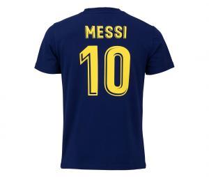 T SHIRT PLAYER MESSI FC BARCA