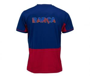 T-shirt Barça Fan Bleu