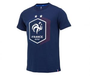 T-shirt France Big Logo Bleu
