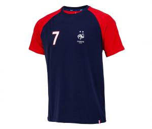 T-shirt France Griezmann 7 Bleu/Rouge