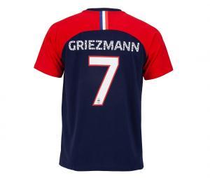 T-shirt France Griezmann 7 Bleu/Rouge