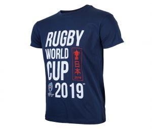 T-shirt Coupe du Monde de Rugby 2019 Bleu