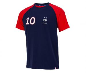 T-shirt France Mbappe 10 Bleu/Rouge
