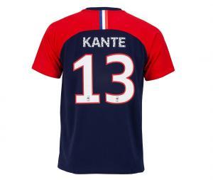T-shirt France Kante 13 Bleu/Rouge