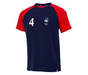T-shirt France Varane 4 Bleu/Rouge