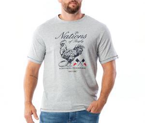 T-shirt Ruckfield Gris