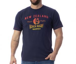 T-shirt Ruckfield Nouvelle-Zélande Bleu