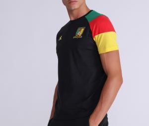 T-shirt Cameroun Fan Noir