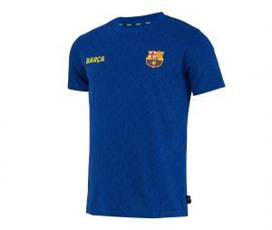 T-shirt Barça All Over Bleu Junior
