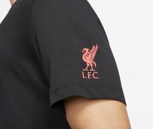 T-shirt Liverpool Tee Voice Noir
