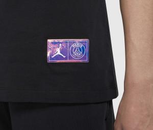 T-shirt Jordan x PSG Wordmark Noir
