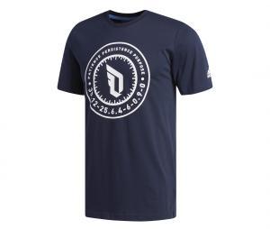 T-shirt adidas Dame Bleu