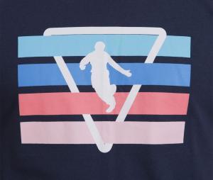 T-shirt Camberabero Rugby Heritage Print Bleu