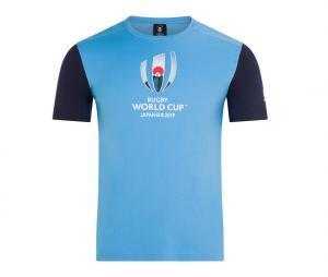 T-shirt Canterbury Coupe du Monde de Rugby 2019 Graphic Bleu
