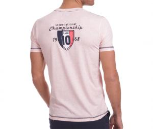 T-shirt Camberabero Rugby Heritage Rose