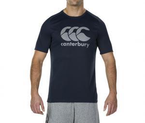 T-shirt Canterbury Logo Bleu