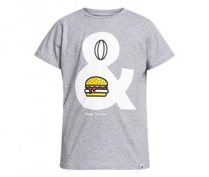 Tee-shirt Rugby Division Diet Gris Junior