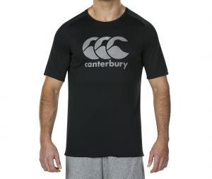 T-shirt Canterbury Logo Noir