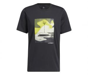 T-shirt adidas Slept On Noir