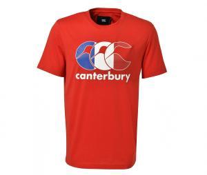 T-shirt Canterbury France Team Rouge