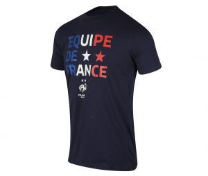 T-shirt Equipe de France Bleu