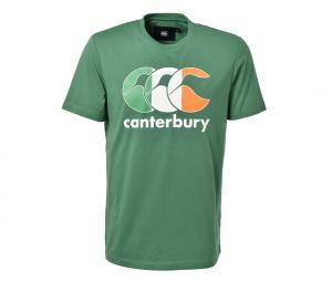 T-shirt Canterbury Irlande Team Vert