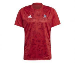 T-shirt Handball France FFHB Rouge