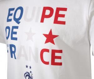 T-shirt Equipe de France Blanc Junior