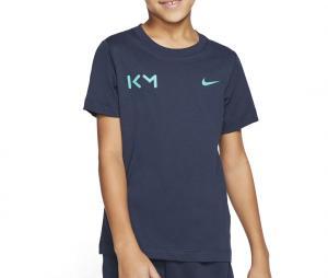 T-shirt Nike Kylian Mbappé Bleu Junior