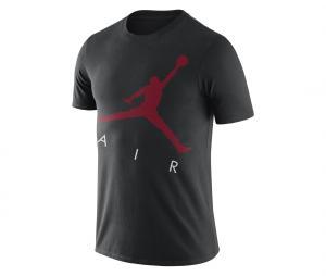 T-shirt Jordan Jumpman Air Noir