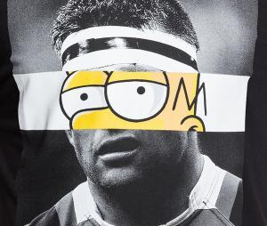 T-shirt Rugby Division Face Noir