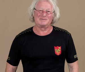 T-shirt Religion Rugby 7 de légende Noir