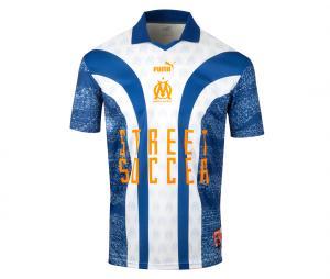 Maillot OM Street Soccer Bleu/Blanc