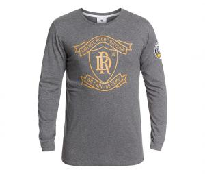 T-shirt Manches Longues Rugby Division Lord Gris