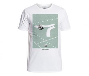 T-shirt Rugby Division Stadium Blanc
