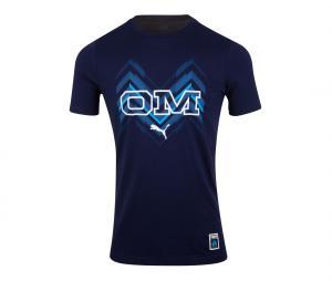 T-shirt OM Core Bleu