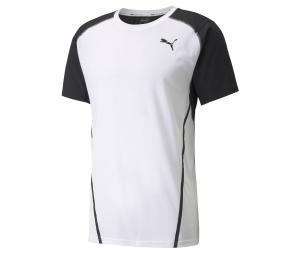 T-shirt Entraînement Puma Blanc/Noir