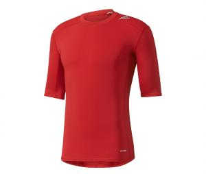 Maillot adidas Techfit Rouge