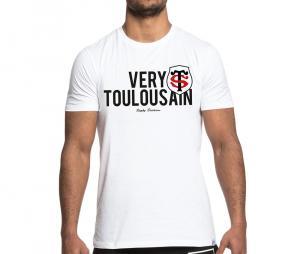 Tee-shirt Stade Toulousain Very blanc