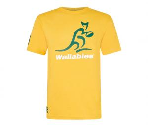 T-shirt Wallabies Jaune