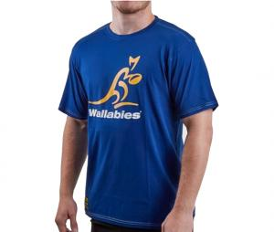 T-shirt Wallabies Bleu