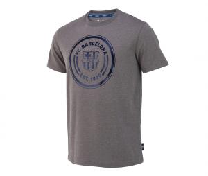 T-shirt Barça Logo Gris
