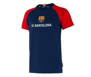 T-shirt Barça Suarez 9 Player Bleu