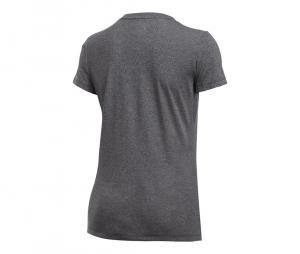 Tee-shirt Col V Threadborne Train Twist Femme Noir
